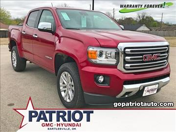 2017 GMC Canyon for sale in Bartlesville, OK