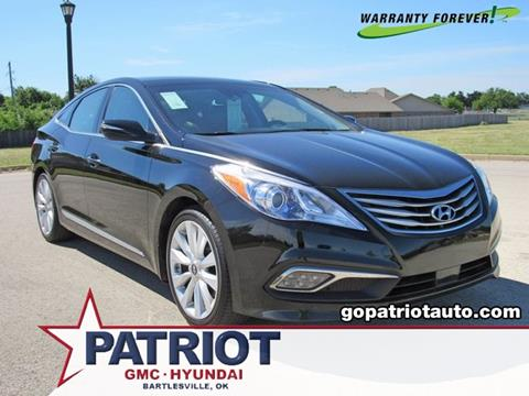 2016 Hyundai Azera for sale in Bartlesville, OK