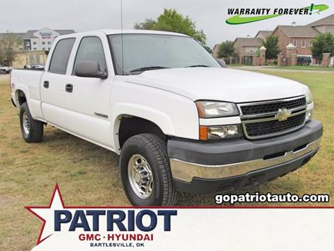 2007 Chevrolet Silverado 2500HD Classic for sale in Bartlesville, OK
