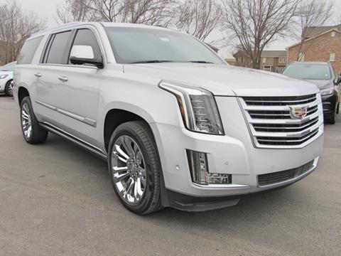 2017 Cadillac Escalade ESV for sale in Bartlesville, OK