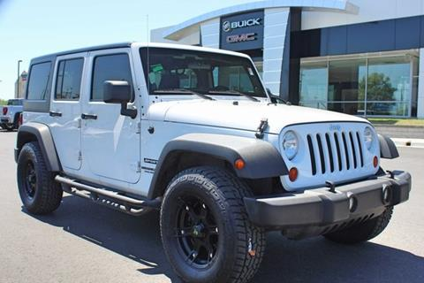 2013 Jeep Wrangler Unlimited for sale in Bartlesville, OK