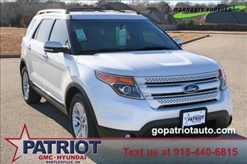 2014 Ford Explorer for sale in Bartlesville, OK
