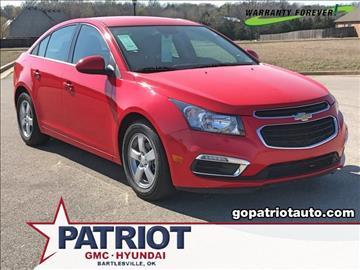 2015 Chevrolet Cruze for sale in Bartlesville, OK