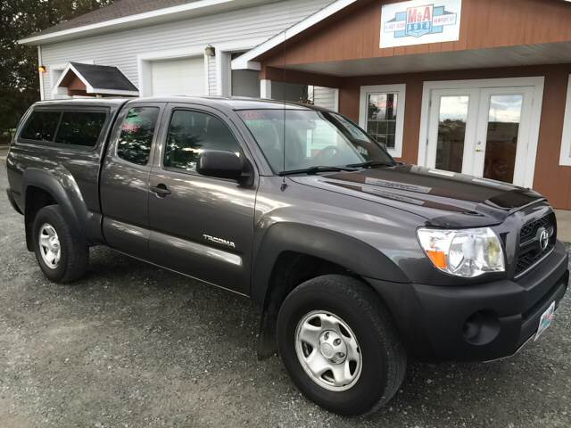 2011 Toyota Tacoma for sale at M&A Auto in Newport VT