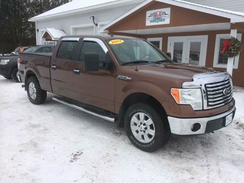 2011 Ford F-150 for sale at M&A Auto in Newport VT
