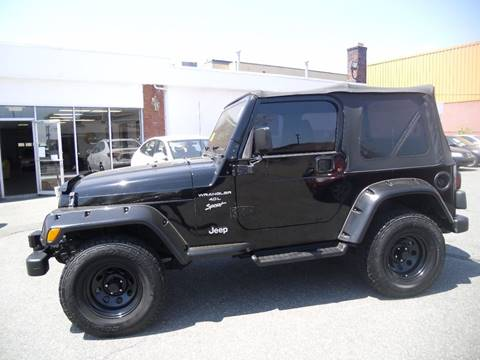 2001 Jeep Wrangler for sale in Lynn, MA