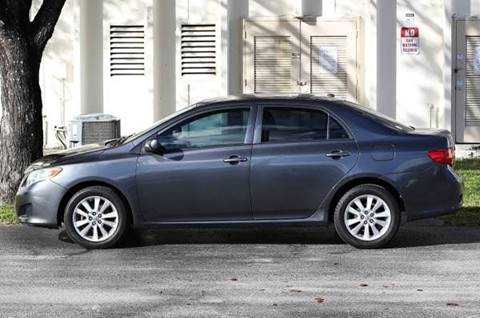 2010 Toyota Corolla for sale in Davie, FL