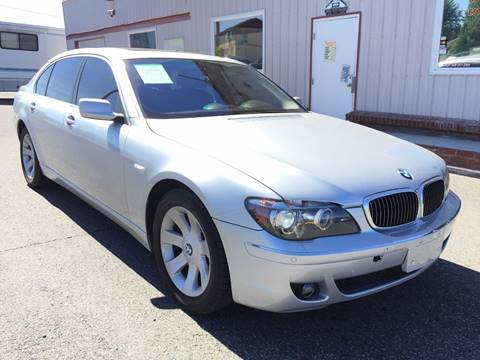 2007 BMW 7 Series for sale at Inca Auto Sales in Pasco WA