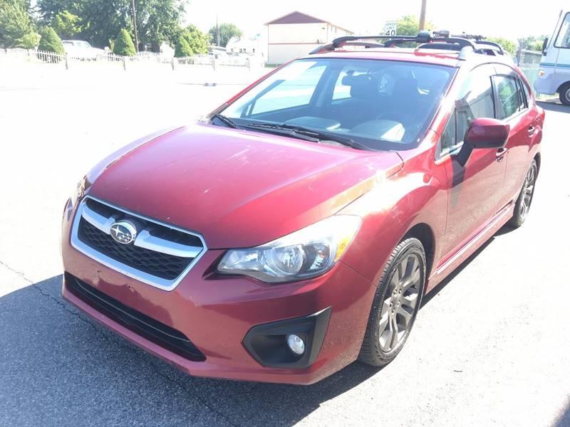 2012 Subaru Impreza for sale at Inca Auto Sales in Pasco WA