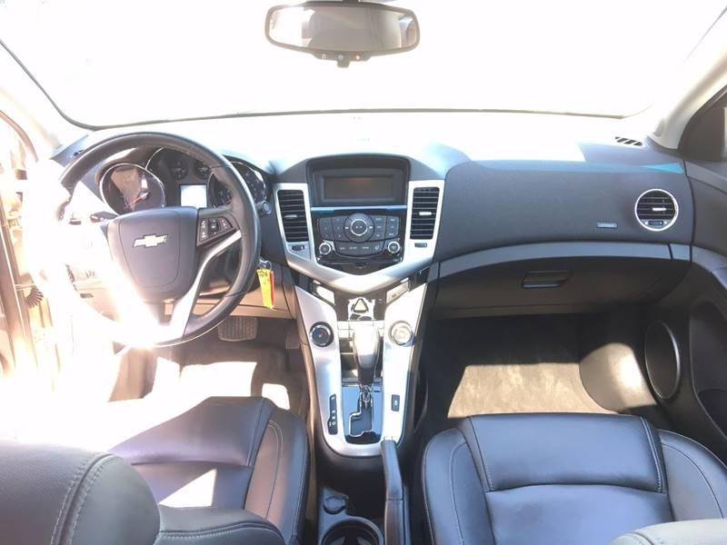 2012 Chevrolet Cruze for sale at Inca Auto Sales in Pasco WA