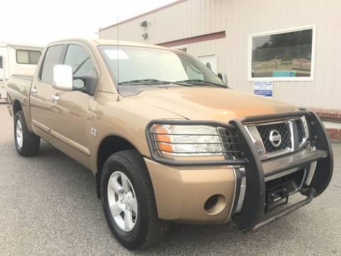 2004 Nissan Titan for sale at Inca Auto Sales in Pasco WA