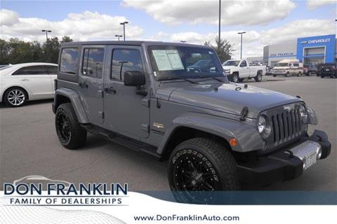 2014 Jeep Wrangler Unlimited for sale in Bardstown, KY