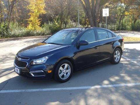 2015 Chevrolet Cruze for sale in Dallas, TX
