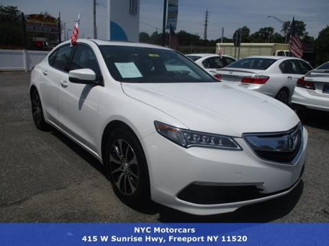 2015 Acura TLX for sale in Freeport, NY