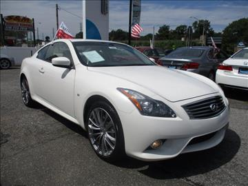 2014 Infiniti Q60 Coupe for sale in Freeport, NY