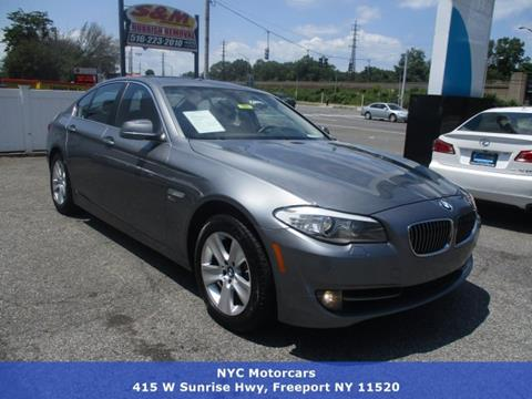 2012 BMW 5 Series for sale in Freeport, NY