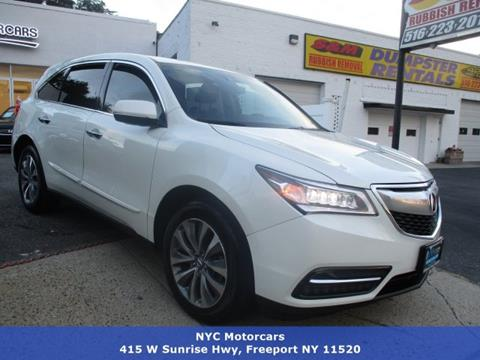 2015 Acura MDX for sale in Freeport, NY