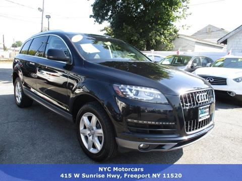 2013 Audi Q7 for sale in Freeport, NY