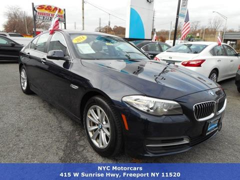 2014 BMW 5 Series for sale in Freeport, NY
