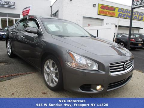2014 Nissan Maxima for sale in Freeport, NY