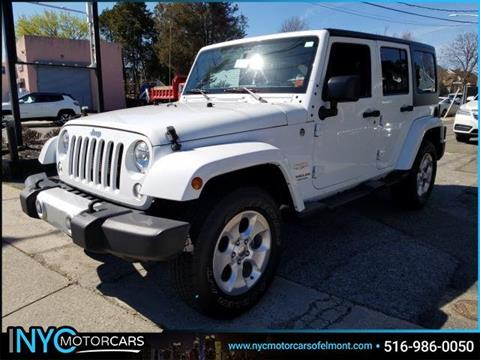 2015 Jeep Wrangler Unlimited for sale in Freeport, NY