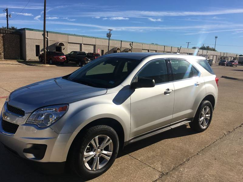 2015 chevrolet equinox ls 4dr suv in richardson tx. Black Bedroom Furniture Sets. Home Design Ideas