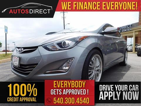 2015 Hyundai Elantra for sale in Fredericksburg, VA