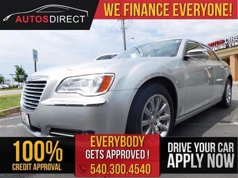 2012 Chrysler 300 for sale in Fredericksburg, VA