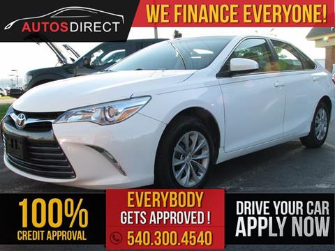 2015 Toyota Camry for sale in Fredericksburg, VA