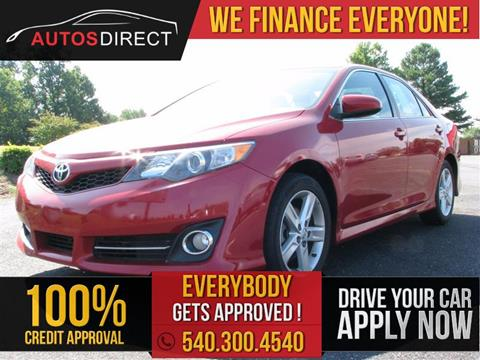 2014 Toyota Camry for sale in Fredericksburg, VA