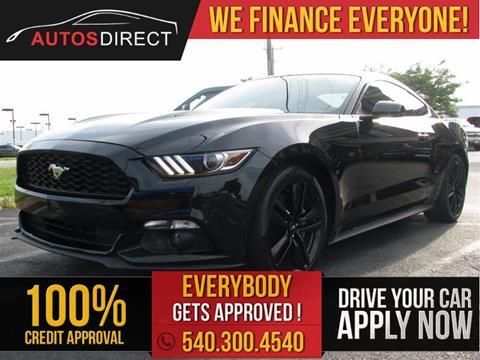 2015 Ford Mustang for sale in Fredericksburg, VA