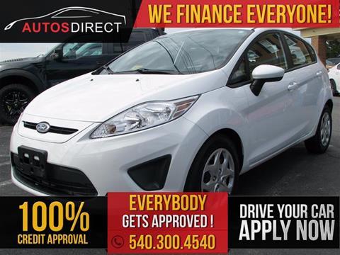 2013 Ford Fiesta for sale in Fredericksburg, VA