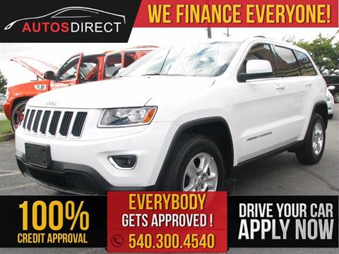2014 Jeep Grand Cherokee for sale in Fredericksburg, VA