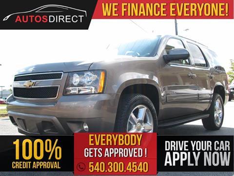 2012 Chevrolet Tahoe for sale in Fredericksburg, VA
