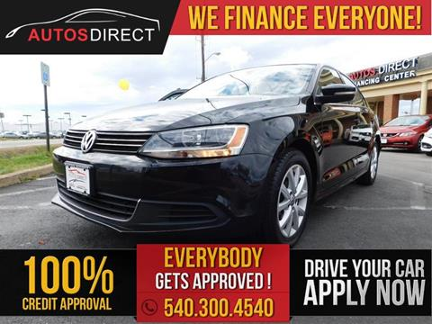 2013 Volkswagen Jetta for sale in Fredericksburg, VA