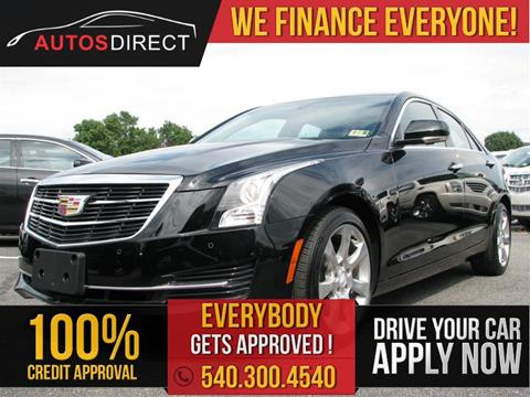 2015 cadillac ats for sale in fredericksburg va. Black Bedroom Furniture Sets. Home Design Ideas