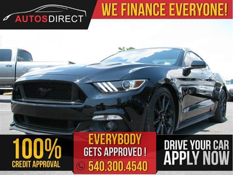 2016 Ford Mustang for sale in Fredericksburg, VA