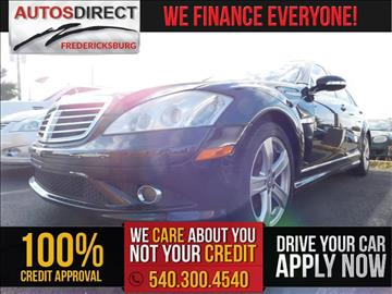 2007 Mercedes-Benz S-Class for sale in Fredericksburg, VA