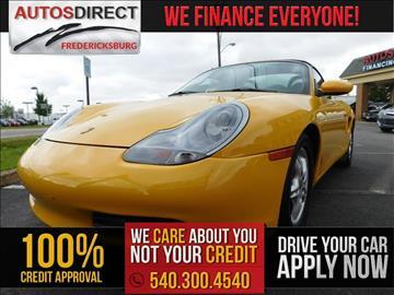 2000 Porsche Boxster for sale in Fredericksburg, VA