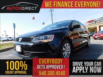 2013 Volkswagen Jetta for sale in Fredericksburg, VA