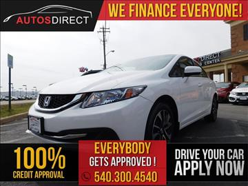 2014 Honda Civic for sale in Fredericksburg, VA