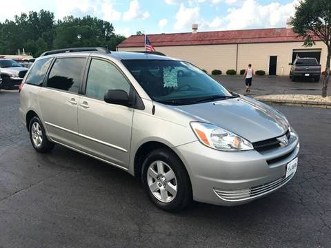 2005 Toyota Sienna for sale at Freedom Automotives in Grove City OH