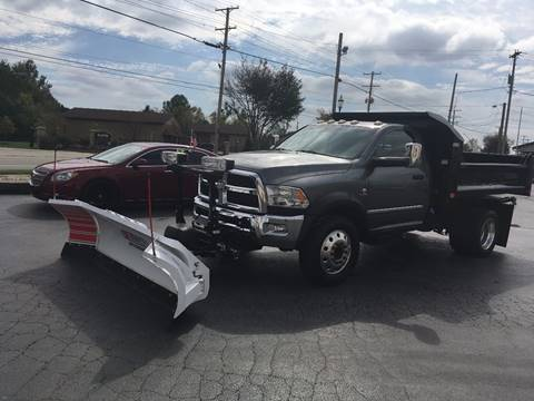 2013 Dodge 4500 DUMP for sale at Freedom Automotives in Grove City OH