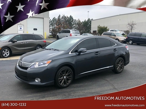 2010 Lexus HS 250h for sale at Freedom Automotives in Grove City OH
