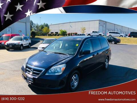 2005 Honda Odyssey for sale at Freedom Automotives in Grove City OH