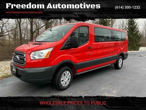 2018 Ford Transit Passenger for sale at Freedom Automotives in Grove City OH