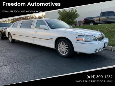 2005 Lincoln Town Car for sale at Freedom Automotives in Grove City OH