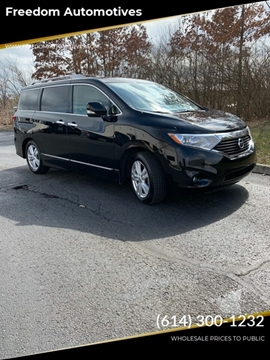 2012 Nissan Quest for sale at Freedom Automotives in Grove City OH