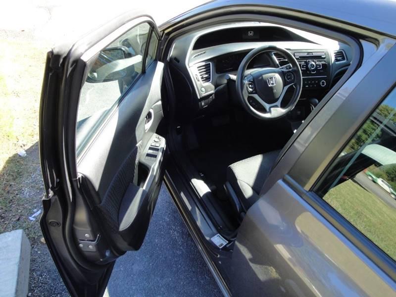 2015 Honda Civic LX (image 8)