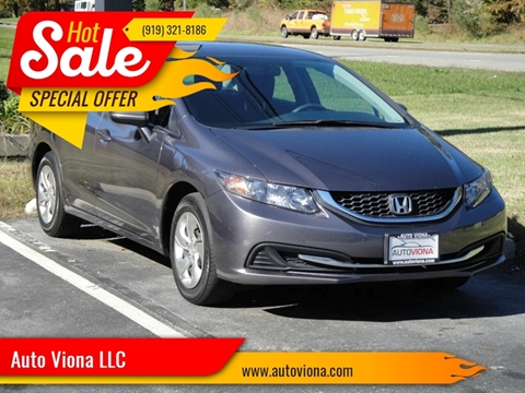 2015 Honda Civic LX for sale at Auto Viona LLC in Durham NC